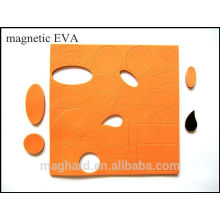 EVA foam die cut into customized shape for education